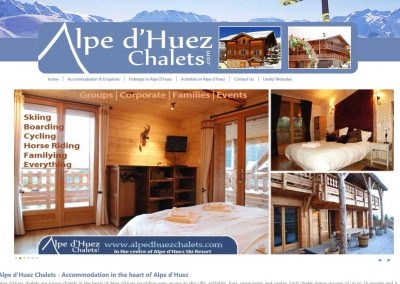Alpe d'Huez Chalets in France