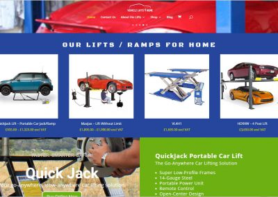 Vehicle Lifts for Home in the UK